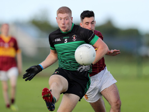 Sarsfield's star Niall McKenna has returned from England and is ready to play a key role for the club's senior footballers and hurlers this season