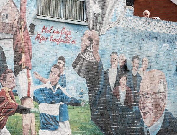 Over the wall: Watching the Joe Cahill Tournament parade to MacRory Park