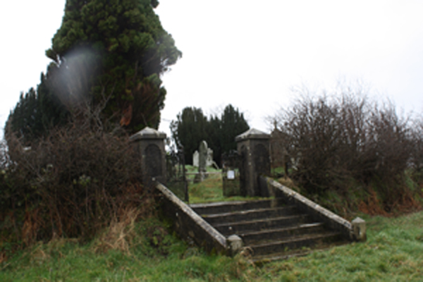 A PLACE APART: Tullyrusk graveyard on the outskirts  of Belfast
