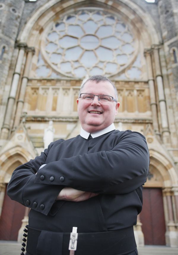 Clonard Rector Fr Noel Kehoe who is preparing to leave the West Belfast monastery for a new vocation in Dundalk