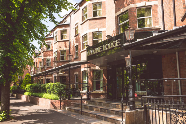 Eglantine Avenue's Malone Lodge hotel