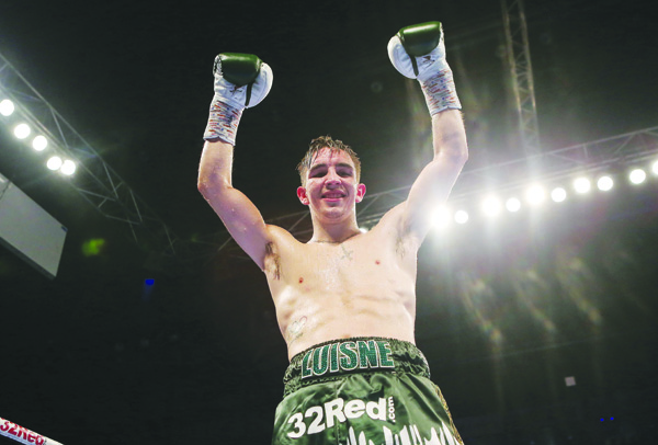 ON HOME GROUND: West Belfast boxer Michael Conlan will be fighting in the Falls Park