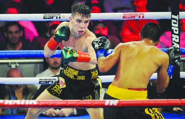 Michael Conlan has confirmed his fight at Féile an Phobail will be his last at featherweight for a while as he plans to drop down to the super-bantamweight division in order to target world title opportunities