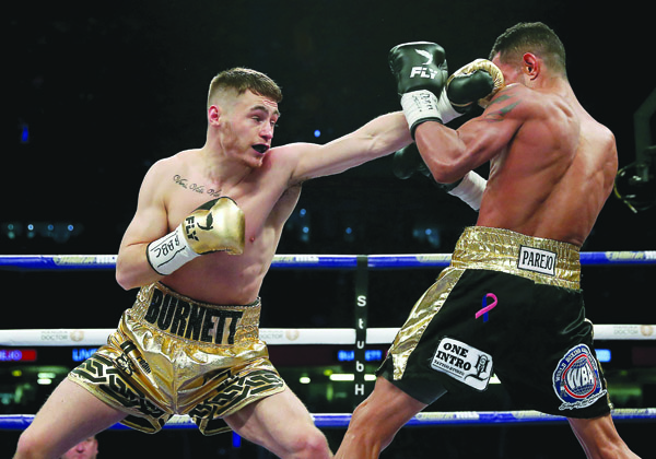 Ryan Burnett returns to action at the Ulster Hall on May 17 Mandatory Credit ©INPHO/Lawrence Lustig