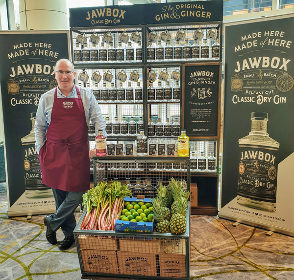 SUCCESS STORY: Gerry White's Jawbox gin has won fans throughout Ireland, Europe and beyond