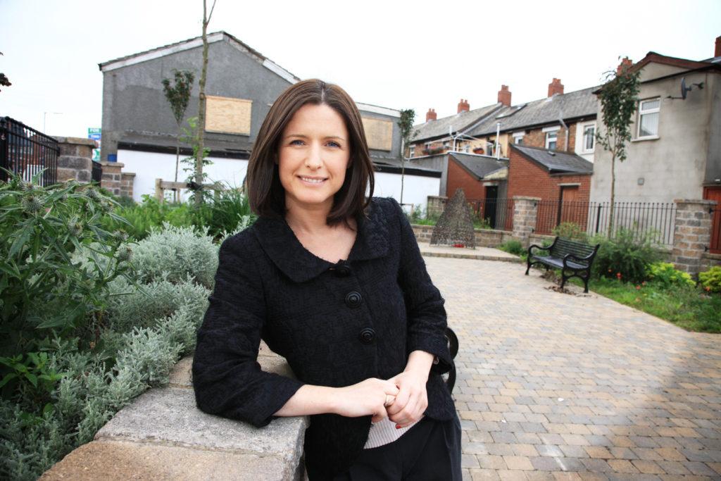 Paula Bradshaw of GVRT, Donegall Road.