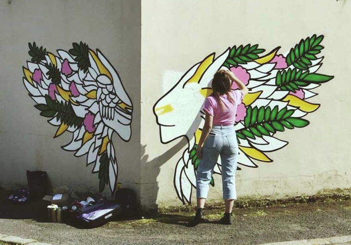 PODCAST: Australian street artist and muralist Danni Simpson.