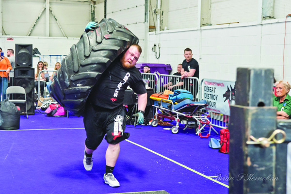 Michael Downey will be running his third annual Belfast Strongman charity event this Sunday in Dunmurry
