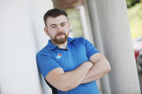 PILOT PLANS:21-year-old Caolán McGarry from Lagmore has been unable to borrow tuition fees
