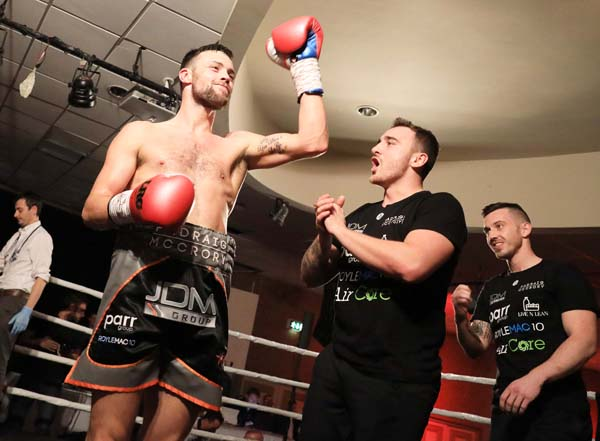 McCrory ready for first title opportunity against Collins