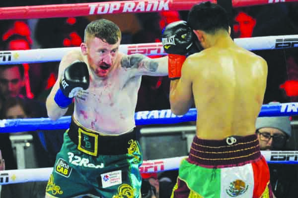 Paddy Barnes returns to the ring for the first time on Saturday since his points reverse against Oscar Mojica on St Patrick's Day in New York Mandatory Credit ©INPHO/Emily Harney