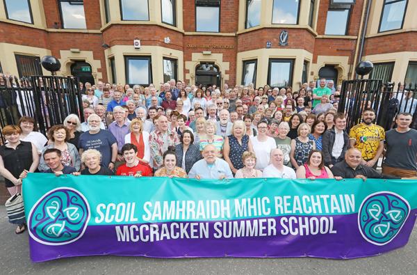 Scoil Samhraidh Mhic Reachtain (McCracken Summer School) - 20 bliain ag fás (20 years growing)