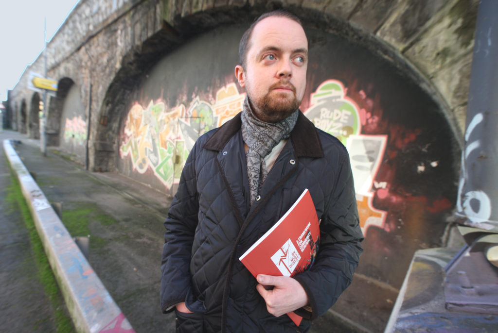 TUNNEL VISION:Fionntán Hargey of the Market Development Association