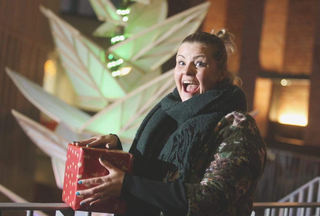 NOLLAIG SHONA: Tara Lynne O'Neill is looking forward to a very busy festive period