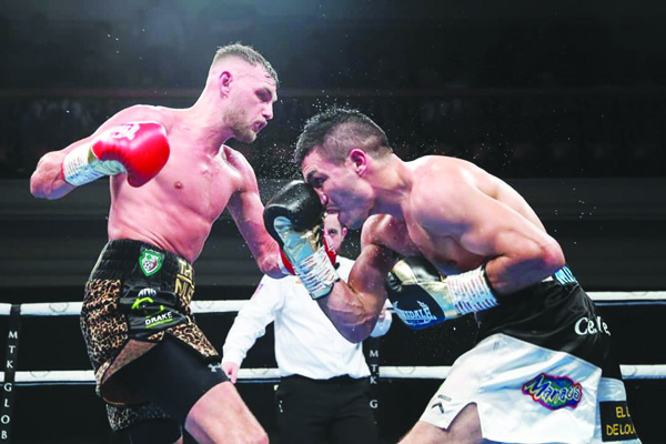 Sean McComb faces Argentina's Mauro Maximiliano Godoy on Saturday night