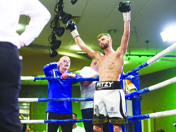 Joe Fitzpatrick is expecting a huge Divis contingent to be in the Ulster Hall to roar him to victory on Saturday night