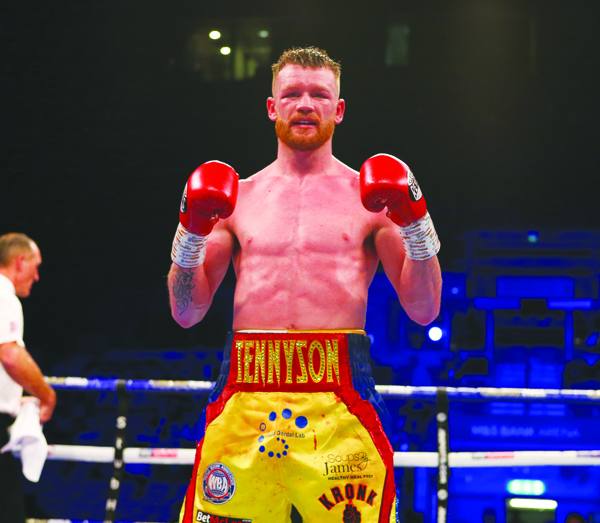 James Tennyson last outing was a stoppage win over Craig Evans to secure a British lightweight title shot