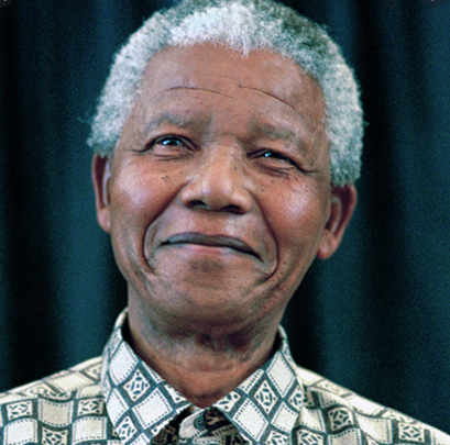 DREAM: A South African rainbow nation was envisaged by Nelson Mandela