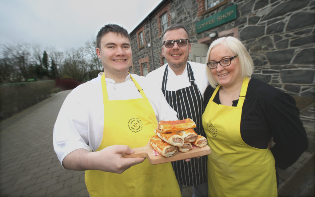 Angela Amorello, JJ Lyttle and Simon Dobson are catering for everyone at Lady Dixon Park