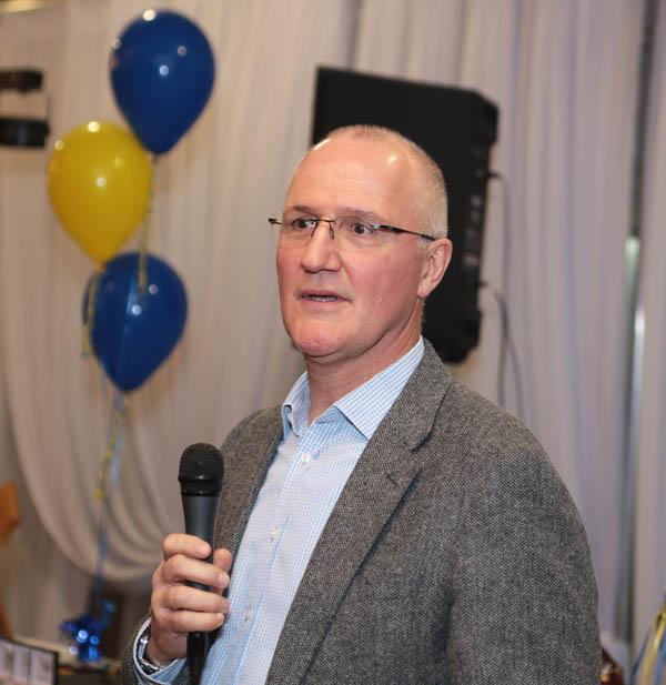 Ciaran Barr: GPA, Casement Park, school days and the keys to success