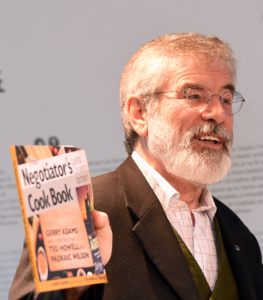 """Gerry Adams: """"If ever there was a need for decent health services, properly resourced and funded, this pandemic has provided the evidence for it.""""[/caption]"""