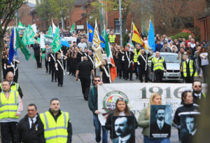 A SPECIAL TIME: The centenary Easter commemoration on the Falls Road in 2016